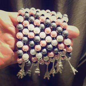 Jewelry - Multicolor crystal pearls bracelet
